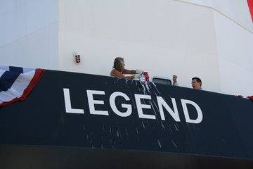 'Legend Christening': Photo credit Crowley
