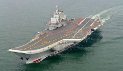 'Liaoning': Photo credit PLAN