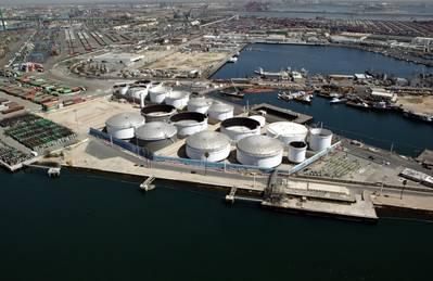 Liquid Bulk Terminals Photo Port of Los Angeles