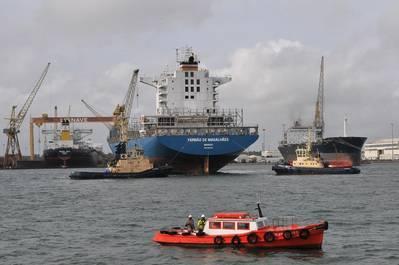Lisnave Shipyard in Setubal [Credit: Svitzer]