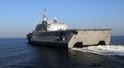 Littoral Combat Ship: Photo credit US Navy