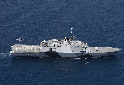 Littoral combat ship USS Freedom (LCS 1). U.S. Navy photo by Tim D. Godbee