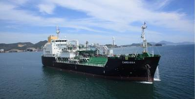 LNG bunkerschip Cardissa. Photo: Royal Dutch Shell Group