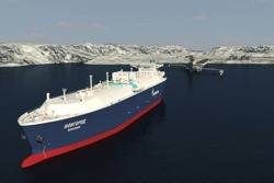 LNG Carrier for Sovcomflot: Image courtesy of STX Korea