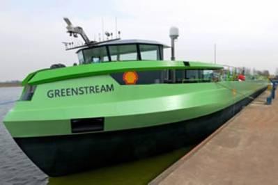 LNG Motor Barge 'Greenstream': Image credit Port of Rotterdam