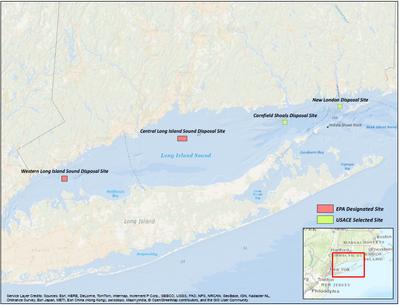 Long Island Sound map (Image: EPA)