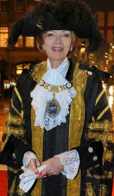 Lord Mayor Fiona Woolf: Photo courtesy of her website