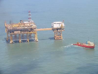 Louisiana Offshore Oil Port, Pumping Platform Complex - Credit: Edibobb - Wikimedia Commons