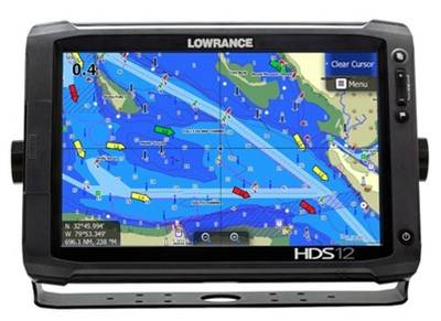 Lowrance HDS-12 Gen2 Touch with Jeppesen C-Map Max-N+ Cartography