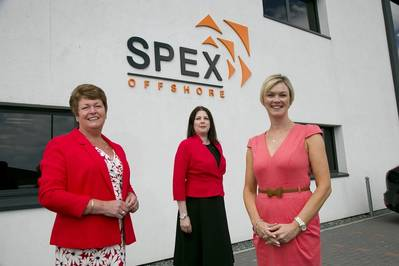 L-R Sylvia Halkerston, Jacqui Duncan and Carole Innes