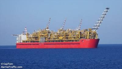 Prelude FLNG - Credit: CapTom/MarineTraffic.com