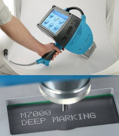 M7000 Engraving Tool: Image courtesy of Gravotech