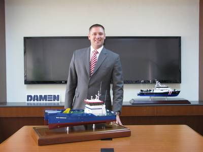 Maarten Jongen, Managing Director of Damen Shipyards Singapore (DSSi).