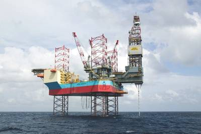 'Maersk Innovator: Photo courtesy of Maersk Drilling