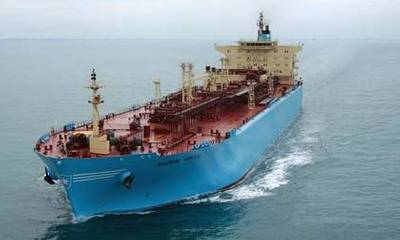 Maersk MR Tanker: Photo courtesy of owners