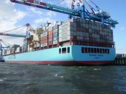 Maersk Ship: Credit CCL Garitzo
