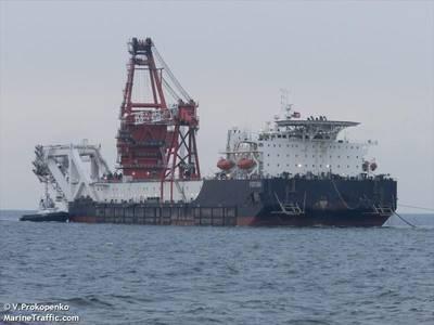 Fortuna pipelayer - Image Credit: V.Prokopenko/MarineTraffic.com