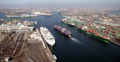Main Channel: Photo courtesy of Port of Los Angeles
