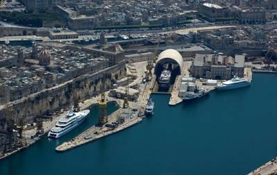 Malta: Photo credit ISS