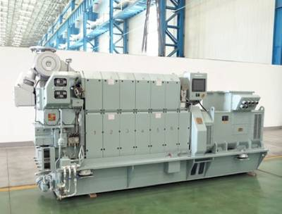 MAN Diesel & Turbo's 16/24 GenSet: Photo courtesy of the manufacturers