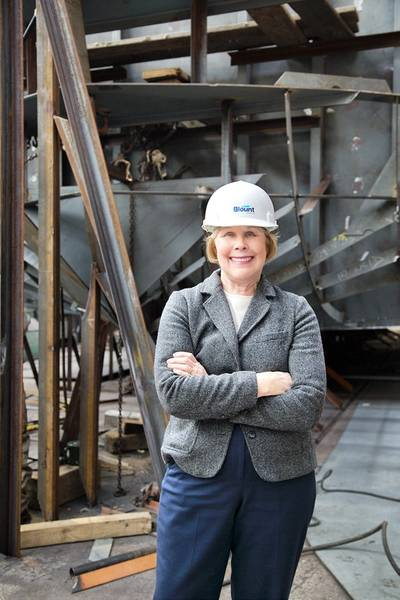 Marcia Blount, President of Blount Boats