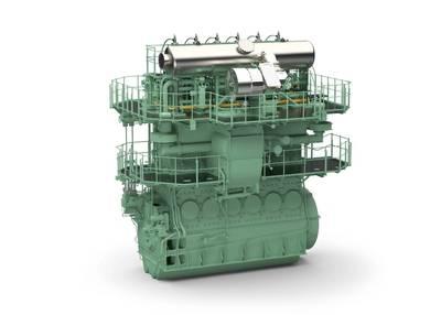 Marine Diesel RT-flex50DF: Image credit Wärtsilä