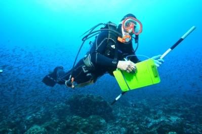 Marine Scientist at Work: Photo credit Perseus Award