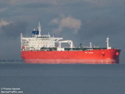 MarineTraffic.com data shows the Kriti Bastion Tanker is currently in Ras Lanuf - Credit: Franco Sasson/MarineTraffic.com
