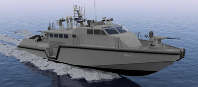 Mark Vl patrol boat: Image Safe Boats
