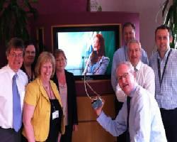 Marketing Team: Fergal Moore; Leona Cleary; Sheila Gleeson; Mary Whirdy; Daragh O'Reilly (with award); Kieran Whelan; Declan Moynihan; Robert Kiernan
