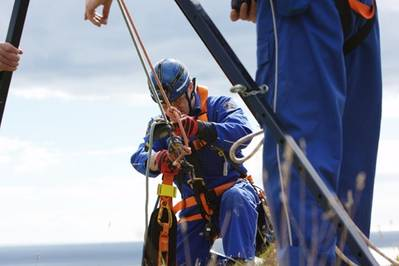 MCA Rescue Officer: Image courtesy of MCA