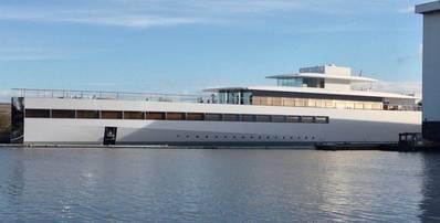 Megayacht Venus: Photo courtesy of Philippe Starck