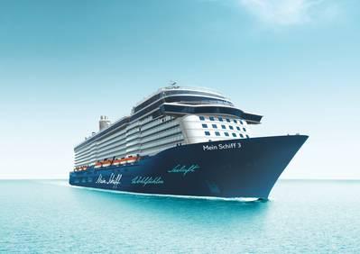 Mein Schiff 3: Image credit TUI Cruises