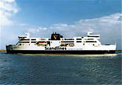 MF Prinsesse Benedikte: Image courtesy of Scandlines