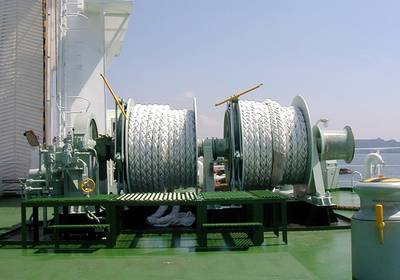 MHI deck machinery (Photo: MHI).