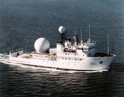 Military Sealift Command vessel USNS Invincible (Photo: Crowley)