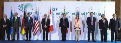 Minister Carr and G7 Colleagues Advance Cooperation in Energy Security and Clean Technology Development. Photo: Official Twitter page of Natural Resources Ministry, Canada.
