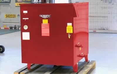 SkimOil's next generation electric MarineVAP evaporator (Image: SkimOil)