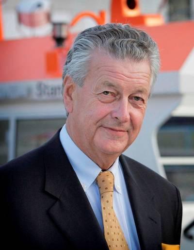 Mr. Kommer Damen, Chairman of Damen Shipyards Group.