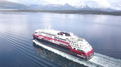 MS Roald Amundsen. Photo: Hurtigruten