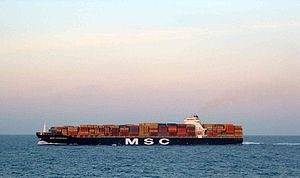 MSC Flaminia: Photo credit Wikipedia CCL