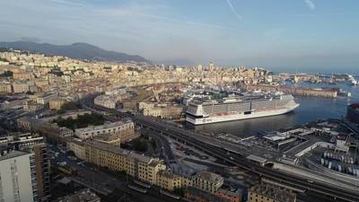 MSC Grandiosa in Genoa (Photo: MSC Cruises)