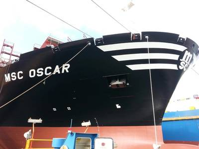 MSC Oscar (Photo: Lukoil Marine)