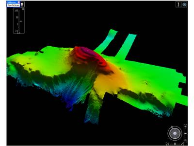 Multi-beam Echo Sounder Image: Photo credit UK MOD