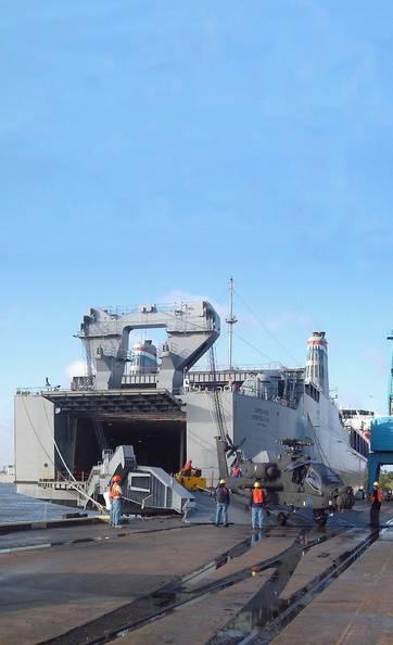 MV Cape Rise (Photo: Military Sealift Command)