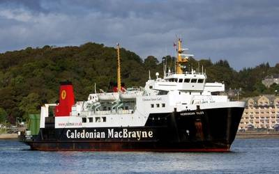 MV Hebridean Isles: Image courtesy of CalMac