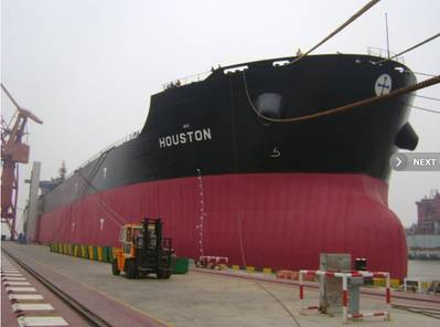 MV Houston: Photo courtesy of Diana Shipping