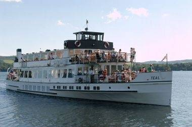 MV Teal images photo credit: Windermere Lake Cruises