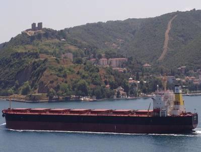 MV Triton: Photo credit Diana Shipping