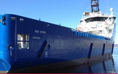 'NAO Viking'. Photo: Nordic American Offshore